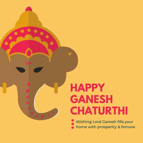 Ganesh Chaturthi Wishes in Marathi